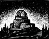 Illustration of Observatory — Stock Vector