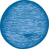 Illustration of Neptune — Stock Vector