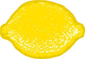 Limone o lime — Vettoriale Stock
