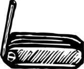 Hex Wrench — Stock Vector