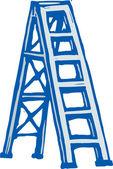 Illustration of Ladder — 图库矢量图片