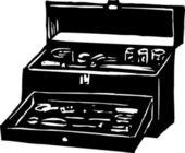 Caja de herramientas — Vector de stock