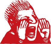 Illustration d'yell — Vecteur