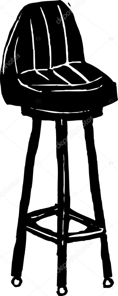 Vector Illustration of Bar Stool Stock Vector 169 ronjoe  : depositphotos31115969 Vector Illustration of Bar Stool from depositphotos.com size 408 x 1023 jpeg 40kB