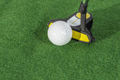 Golf Putter Angle — Stock Photo
