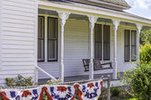 Historic Front Porch — Stock Photo
