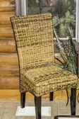Wicker Chair — Stock Photo