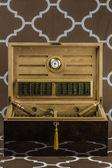 Large Cigar Humidor — Stock Photo