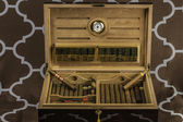 Large Cigar Humidor 2 — Stock Photo