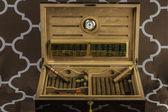 Large Cigar Humidor 2 — Stock Photo