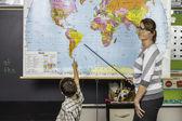 Mappa di insegnante — Foto Stock