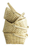 Stack di cesto in legno — Foto Stock