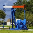 Oil Nodding Donkey Pumpjack — Stock Photo