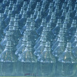 Blue Bottle Background — Stock Photo