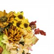 Fall and Autumn Colored Flower Arrangment — Stock Photo