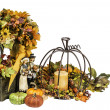 Thanksgiving and Fall Themed Arrangement — Foto de Stock