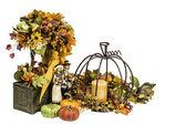 Thanksgiving and Fall Themed Arrangement — Foto de Stock