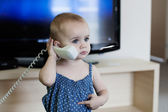 Young Cheerful Receptionist — Stock Photo