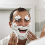 Shaving make me fun! — Stock Photo