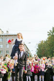 1st of september. Saint-Petersburg — Stock Photo