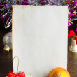 Letter to Santa Claus — Stock Photo #33453541
