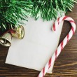 Stock Photo: Letter to Santa Claus