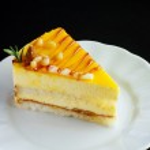 mango lezzetli pasta dilimi — Stok fotoğraf #43256957