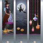 Halloween Banners — Stock Vector #28924309