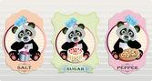 Panda cpices — Stockvektor