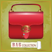Red Bag — Stock Vector