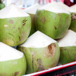 Green coconut sale — Stock Photo #32450445