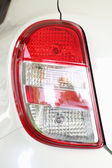 The left tail light car. — Stock Photo
