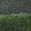 Grass football field with gravel. — Stock Photo #34110445