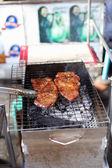 Arrosto di maiale alla griglia — Foto Stock