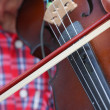 People was playing violin — Stockfoto #35998595