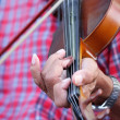 People was playing violin — Stockfoto #35998745