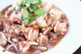 Food made from squid — Stock Photo