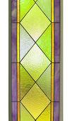 Multi-colored glass of window — Stock Photo