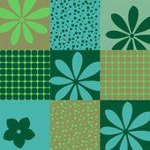 Seamless Wallpaper geometric patterns — Stock Vector
