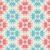 白い背景の上のヴィンテージのシームレスなパターン — ストックベクタ