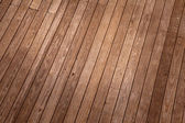 Wood ground top view — Stock Photo