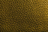 Textura de cuero en color verde oscuro — Foto de Stock