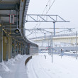 Hakodate City, Japan, December, 22th, 2009: Hakodate Station si — Stock Photo