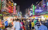 Liuhe Night Market,Kaohsiung,Taiwan, May, 4th, 2013 : Liuhe Nigh — Stock Photo