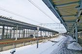Hakodate stad, japan, december, 22, 2009: hakodate station si — Stockfoto