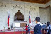 Taipei,Taiwan, February, 12th, 2012:inside of Chiang Kai-shek M — Stock Photo