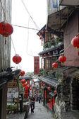 Jiufen street sight, Taipei, Taiwan : May, 7th, 2014, Jiufen str — Foto Stock