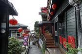 Jiufen street sight, Taipei, Taiwan : May, 7th, 2014, Jiufen str — Stock fotografie