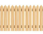 Wood Fence (horizontally seamless) — Stock Vector