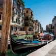 Venetian gondola — Stock Photo